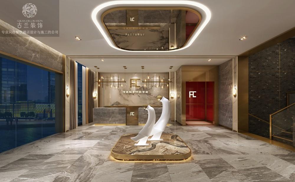 绵阳捷雅轻奢酒店-古兰装饰,酒店设计,酒店施工,酒店装修,酒店改造