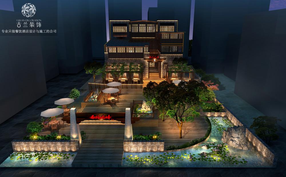 汶川羌文化主题度假酒店-酒店设计,酒店施工,酒店装修,酒店改造